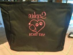 1 tote bag vet dr vet tech