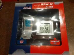 Sharp Tech Atomic LCD Desk Clock and Travel Alarm Instructio