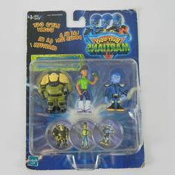 Hasbro Butt-Ugly Martians NIB Figure Set Tech Officer 2-T Ce