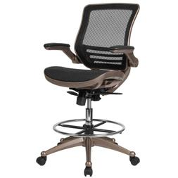 Chair Lab-Tech Drafting Gaming Graphic-Arts Posture Support