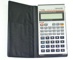 Sharp EL506A Calculator with Case Tech Office BIN STAT OCT H