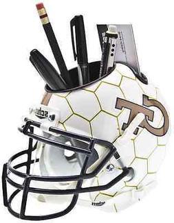 georgia tech yellow jackets football helmet desk