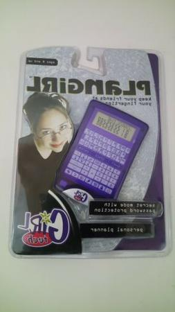 Girl Tech Plangirl Personal Planner 2001