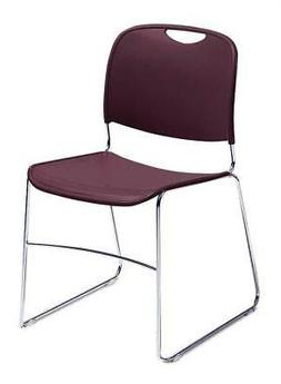 Hi-Tech Ultra Compact Stacking Chair - Set of 4