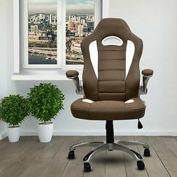 Techni Mobili High Back Executive Sport Race Office Chair wi