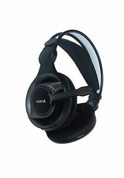 A4tech HS-100 Stereo Gaming Headset Office Headphone W/ Aux