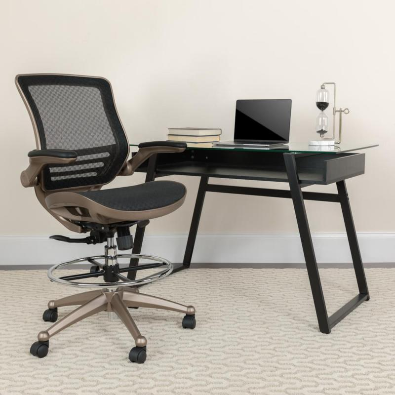 Chair Lab-Tech Gaming Graphic-Arts Posture Breathable Bk