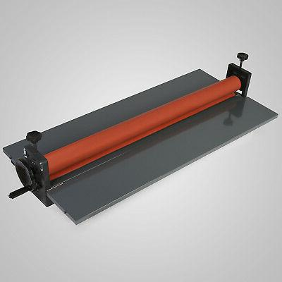 "Cold Laminator Machine Manual Roller Tech 25"" 29"""