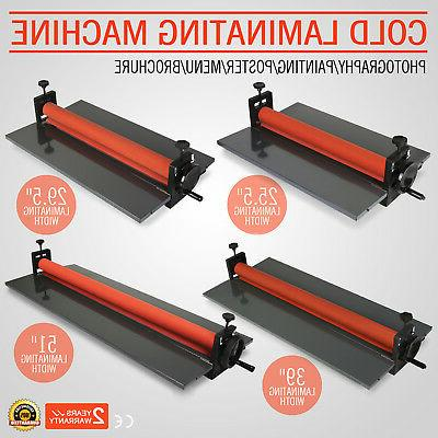 cold laminator laminating machine manual roller advanced