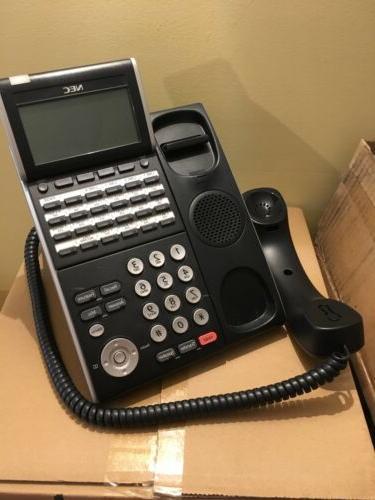 NEC DLVZ-Y PHONE BLACK TECH 1 YEAR