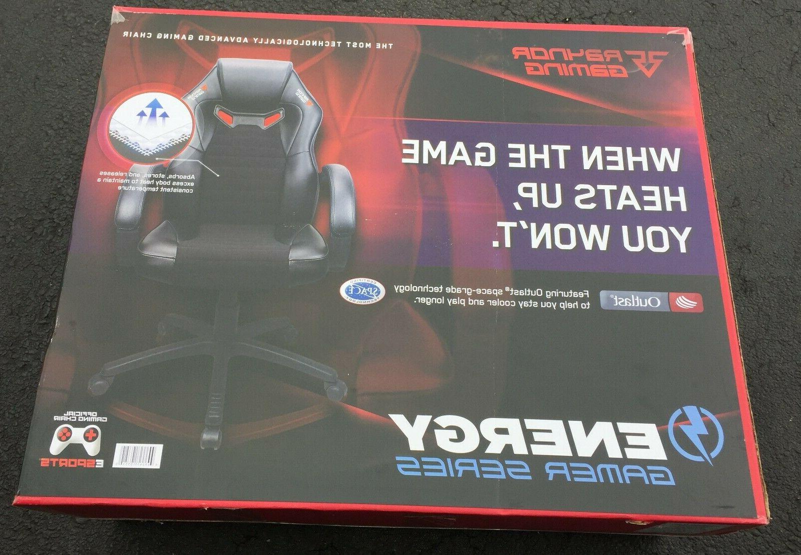 gaming energy gamer series advanced gaming chair