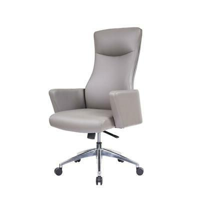 high back executive chair taupe
