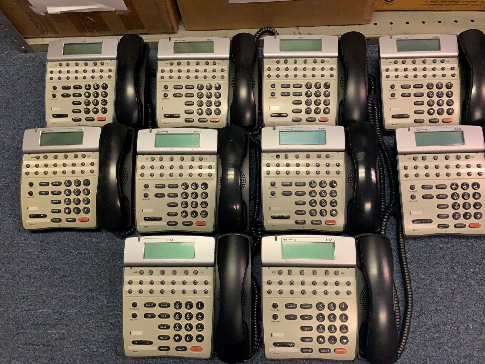 lot 10 dterm 80 telephones dth 16d