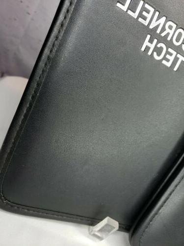 Lot/2 Tech Black Padded Business Folder Card Holders