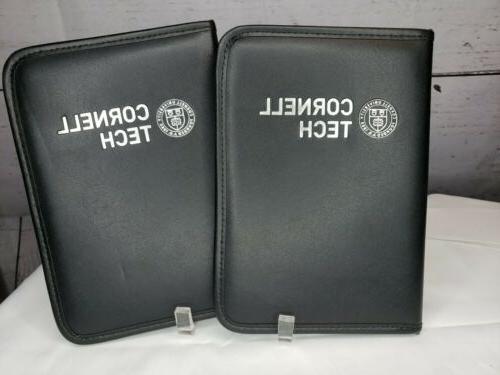 lot 2 612 x9 black padded notebook