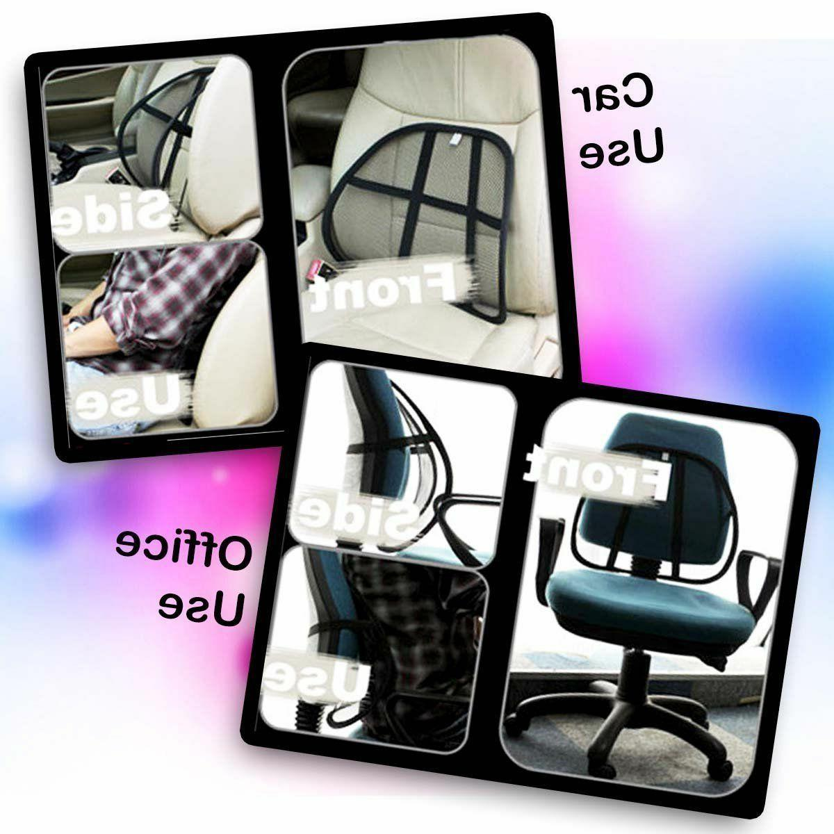 Zone Back Pain Massage Support Cushion Chair Car