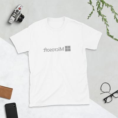 Microsoft T-Shirt - word azure surface pc