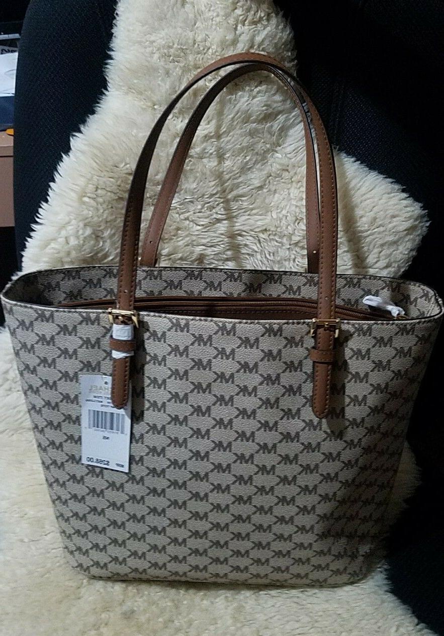 NWT Michael Kors MK Large Handbag Tablet Bag$268