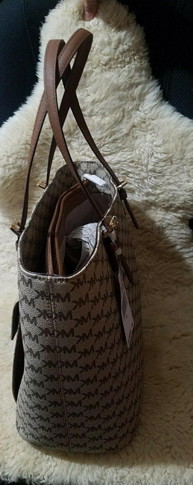NWT Michael Kors Large Handbag Laptop Tablet Purse Bag$268