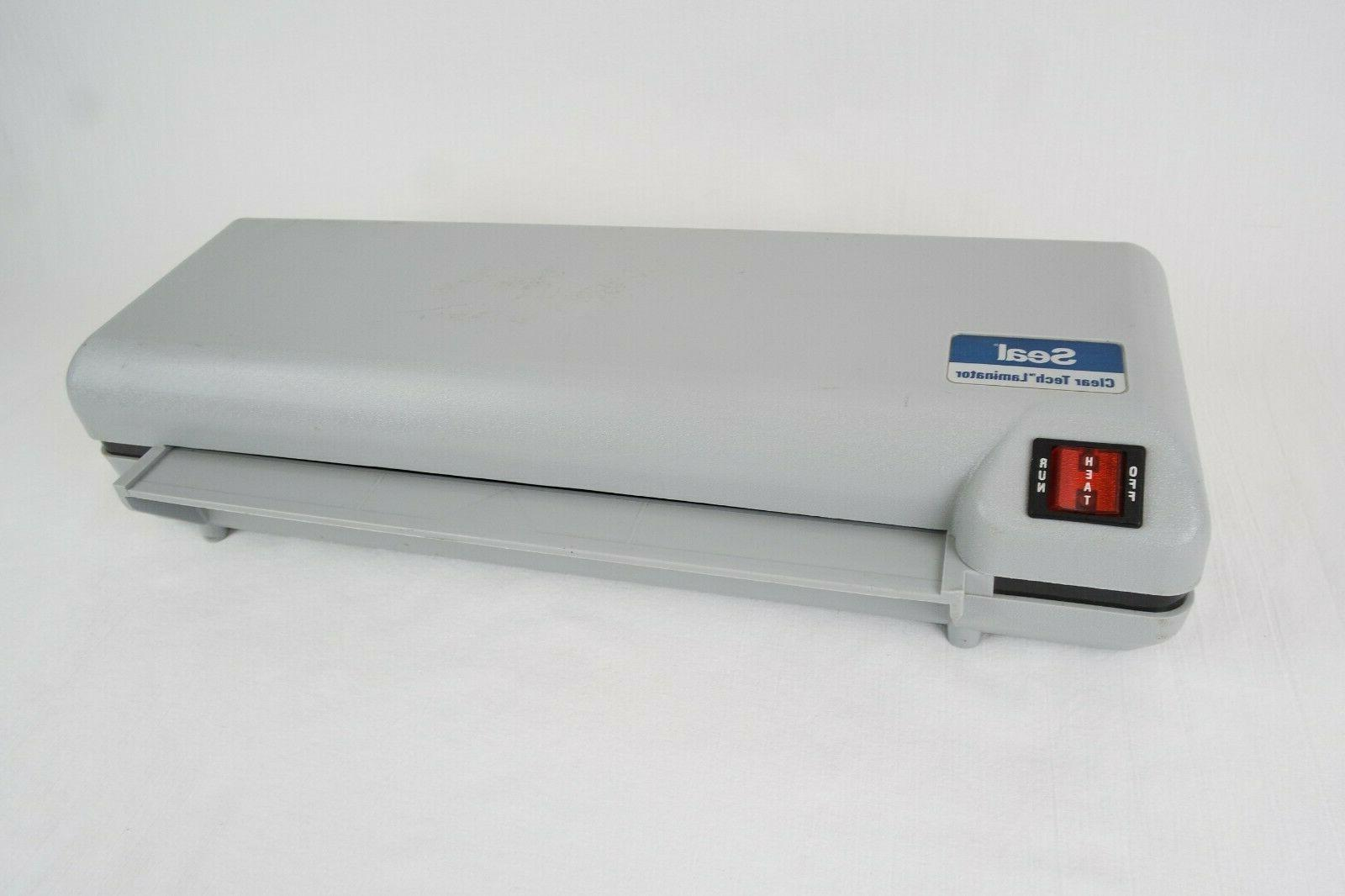 products clear tech laminator model ct1200 tested