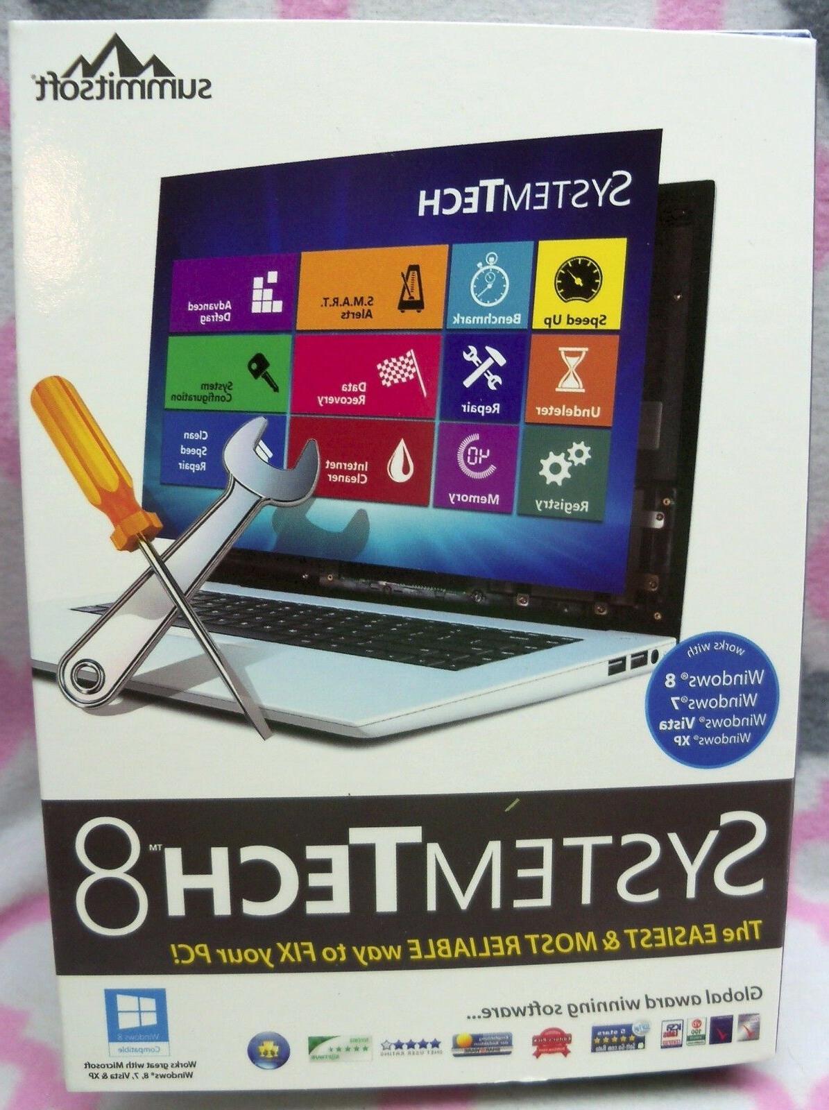 system tech 8 software disc