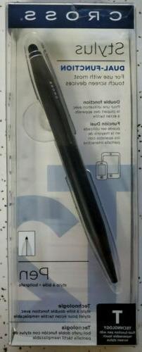 Cross® Tech2™ Ballpoint Pen With Stylus, Medium Point, 1.
