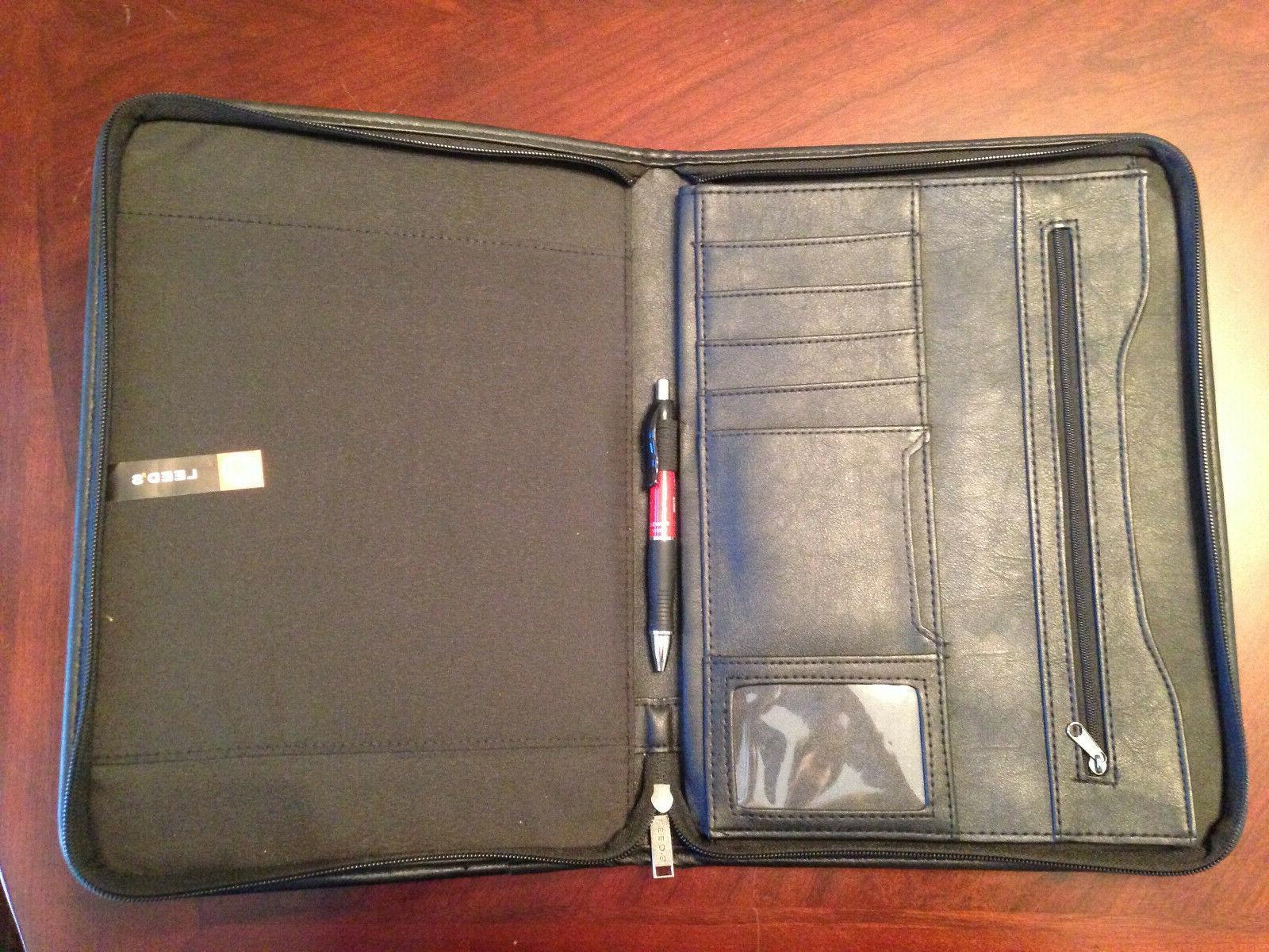 TEXAS TECH Business Portfolio Padfolio Executive Folder Organizer