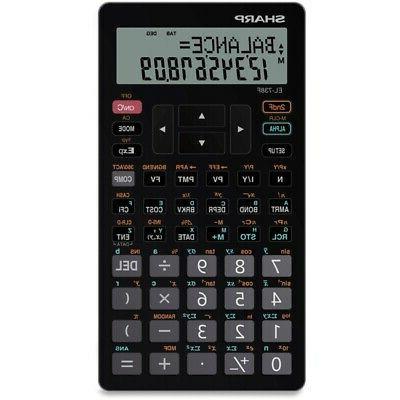victor tech el738fb advanced financial calculator