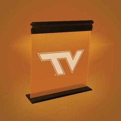 virginia tech hokies acrylic led sign light