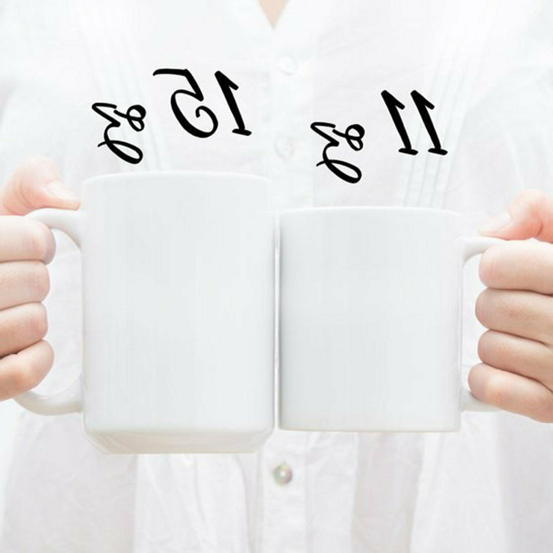 World's Okayest White Ceramic Mug Office Joke Gift