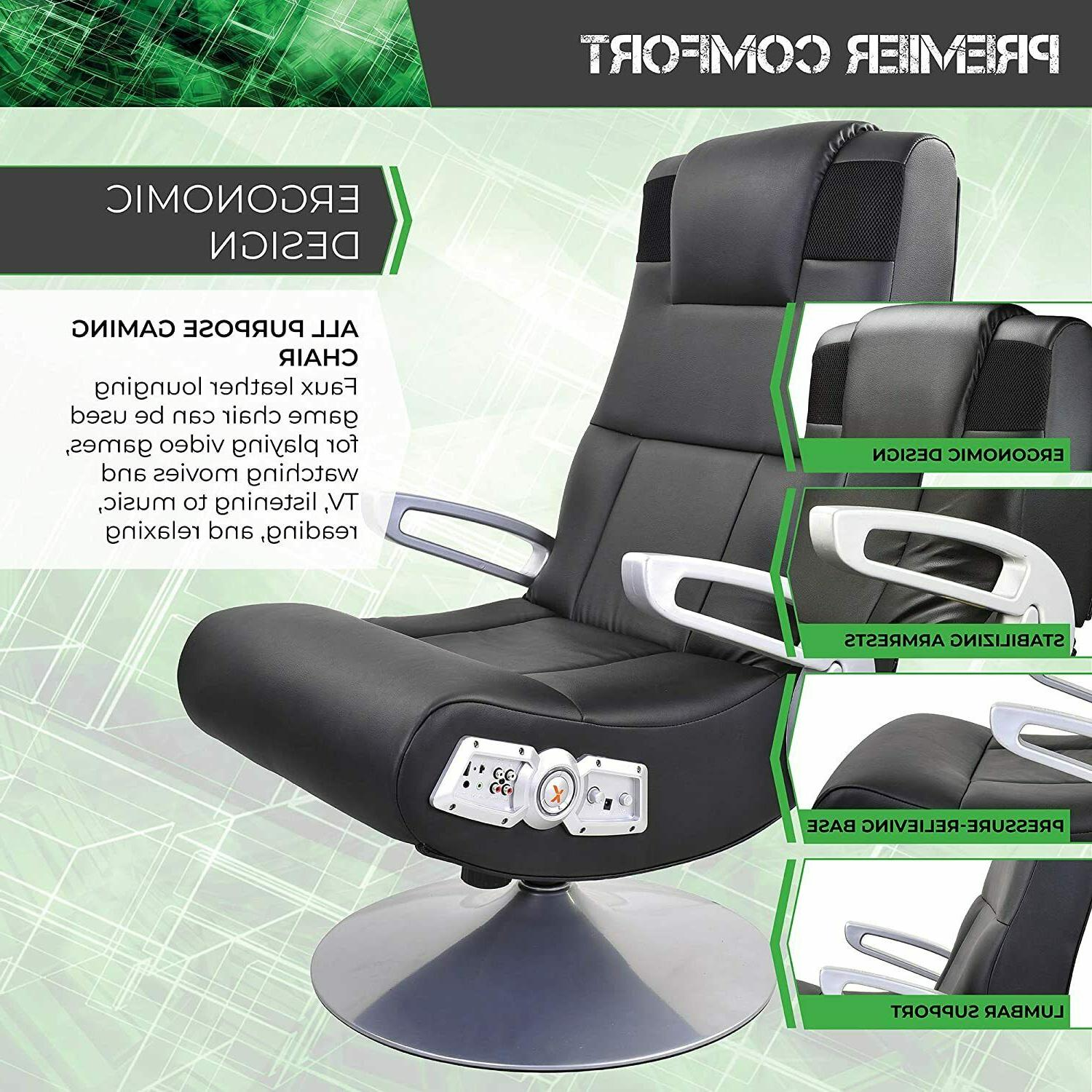 Black High Video Gaming Chair