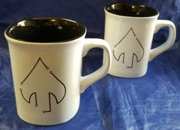 Lot of 2 Mugs: CIA NCS DIGITAL Clandestine Spear Office of I