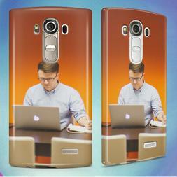 MAN DESK OFFICE TECH HARD BACK CASE COVER FOR LG PHONES