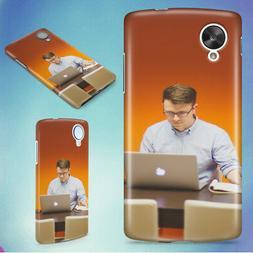 MAN DESK OFFICE TECH HARD BACK CASE COVER FOR NEXUS PHONES