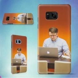 MAN DESK OFFICE TECH HARD CASE FOR SAMSUNG GALAXY S PHONES