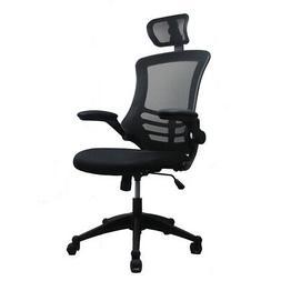 Techni Mobili Modern High-Back Mesh Executive Office Chair w