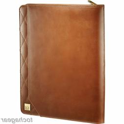 NEW! Cutter & Buck® Bainbridge iPad Zippered Padfolio Noteb