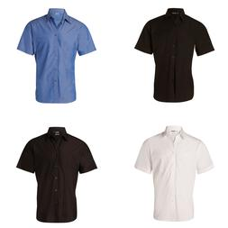 NEW MENS NANO TECH SHORT SLEEVE SHIRT Business Work Office F