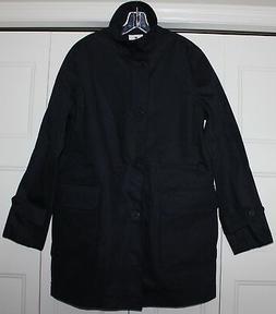 Sperry Tech Officer Jacket Mens size Medium M NAVY BLUE SMH1