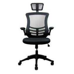 Reclining High-back Executive Mesh Office Chair Silver