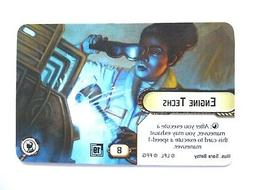 Star Wars Armada 2019 Promo Q1 Alt Art Card Engine Techs/Int