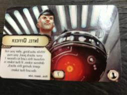 Star Wars: Armada Intel Officer / Engine Tech promo card