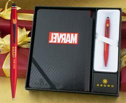 Cross Tech 2 Ballpoint Pen - Marvel Iron Man with Journal