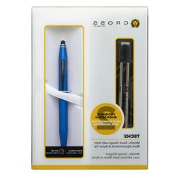 Cross Tech 2 Metallic Blue Ballpoint Pen
