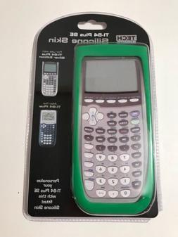 Tech Headquarters Silicone Skin TI-84 Plus SE Green Calculat