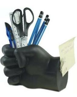 Tech Tools Black Hand Pen Holder with Magnetic Back - Deskto