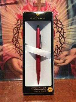 Cross Tech2 Ballpoint Pen With Stylus, Medium Point, 1.0mm,