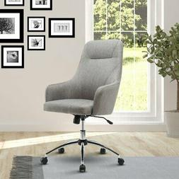Techni Mobili Upholstered High Back Rolling Office Chair - G