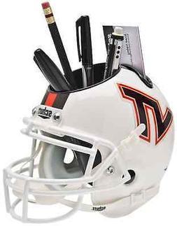 VIRGINIA TECH HOKIES Mini Football Helmet DESK ORGANIZER Off
