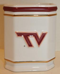 VIRGINIA TECH VT NCAA Office Desk Caddy PEN/PENCIL HOLDER-Fi